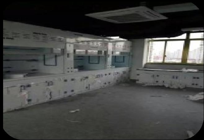 实验室通风柜安装现场