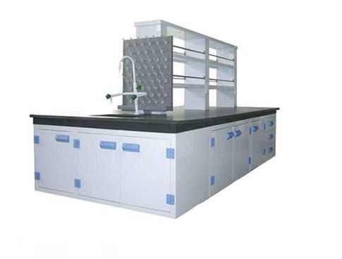 实验室中央实验桌展示