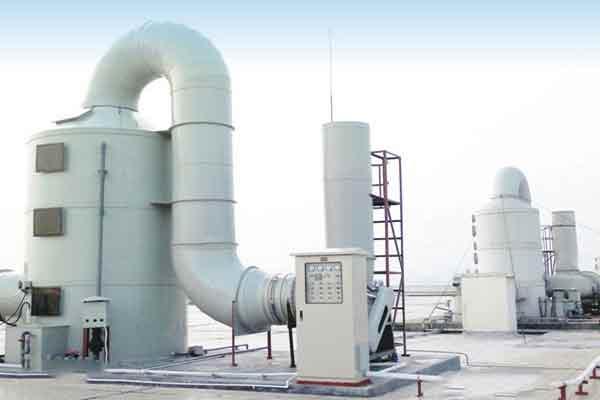 陕西某绝缘材料厂废气污染严重急需废气处理设备引入