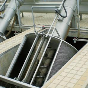 OA₁型楔形式螺旋格栅除污机