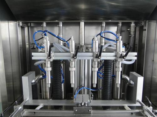 液體灌裝生產線的原理特點簡單介紹