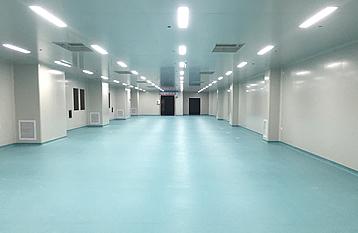 陕西海澳特为咸阳某医药生产企业提供厂房净化设计和施工服务