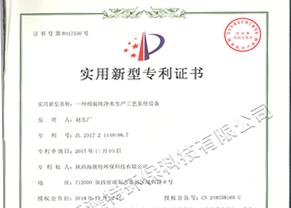 一种桶装纯净水生产工艺系统设备实用型专利证书