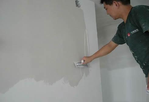 内墙腻子施工