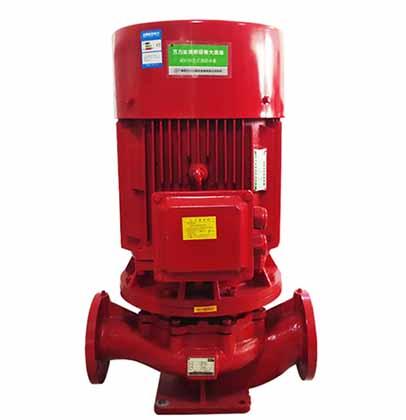 立式消防泵的特点浅析