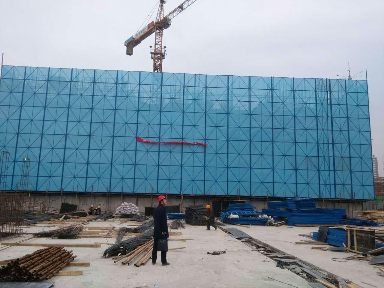 建筑爬架网如何正确使用