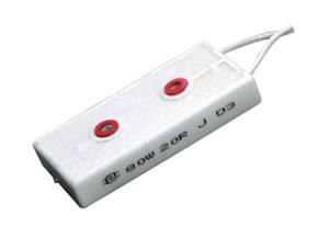 RX27-8-80W瓷外壳功率型线绕电阻器