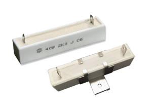 RX27-4型卧式瓷外壳功率型线绕电阻器