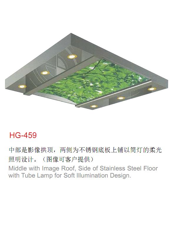 電梯裝潢轎頂HG-459