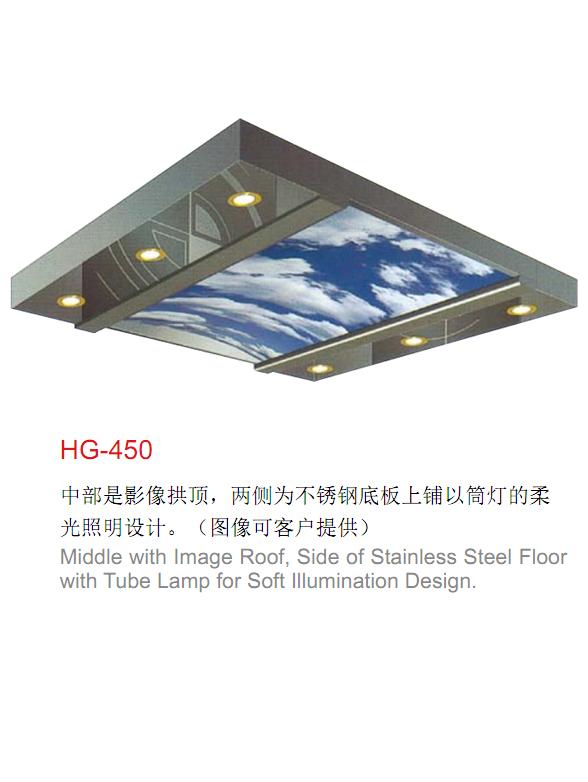 電梯裝潢轎頂HG-450