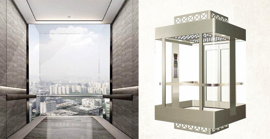 方形觀光電梯