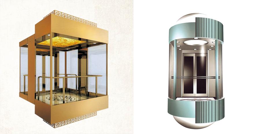 菱形觀光電梯
