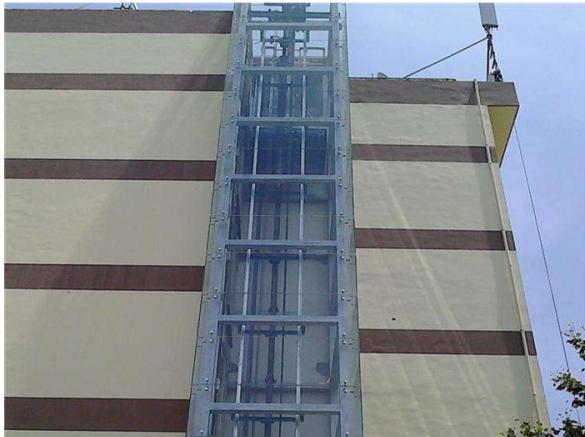 老旧楼电梯加装工程