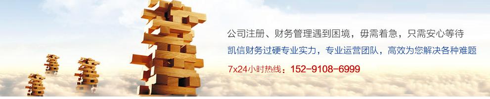 咸阳凯信公司提供专业代理记账服务