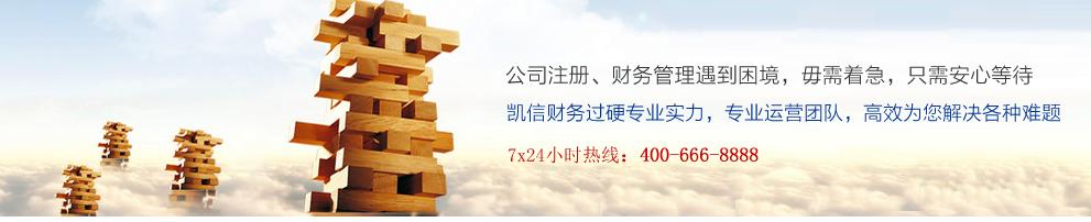 咸陽凱信公司提供專業代理記賬服務