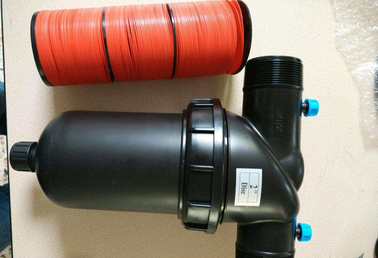 碟片过滤器可折洗叠片滴灌过滤器西安灌溉
