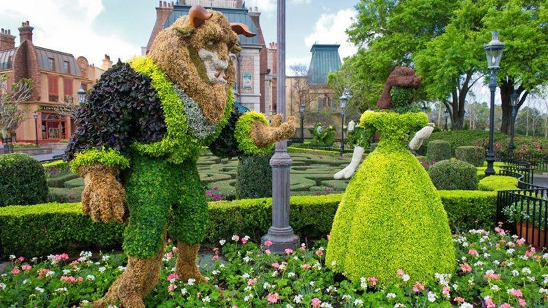 迪士尼系列绿雕