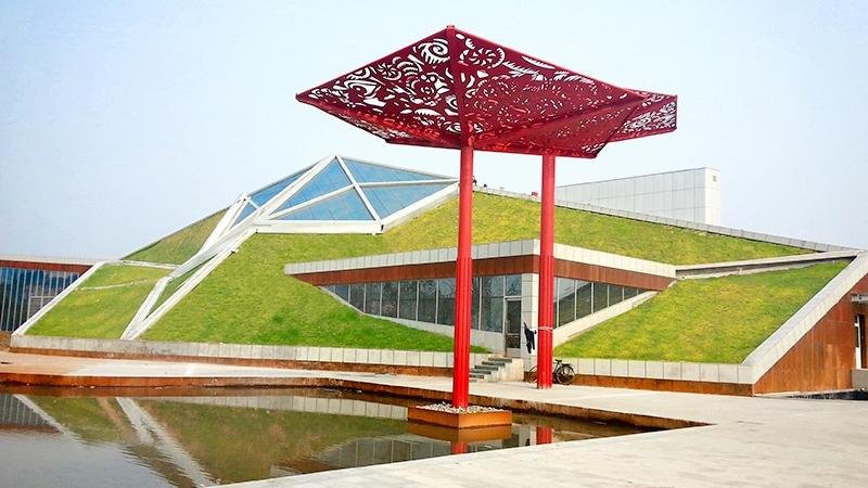 简单式屋顶绿化