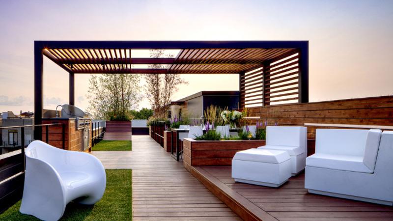 楼顶花园设计