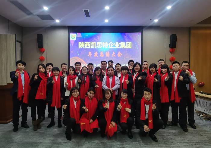 陕西凯思特集团年度总结大会