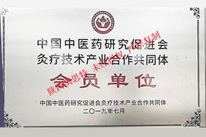 中医药研究促进会合作会员单位荣誉