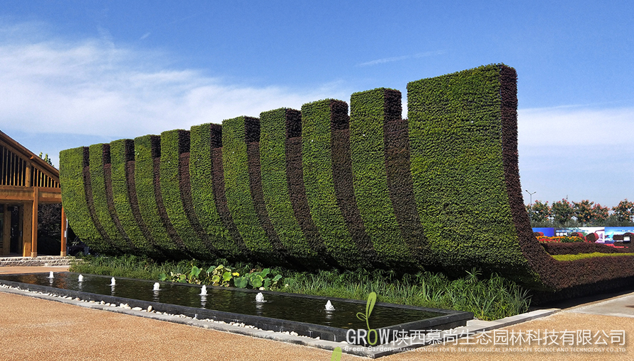 讲解绿植墙冬季灌溉分析