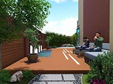 陽光臺庭院景觀方案設計