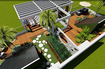 中华世纪城屋顶花园