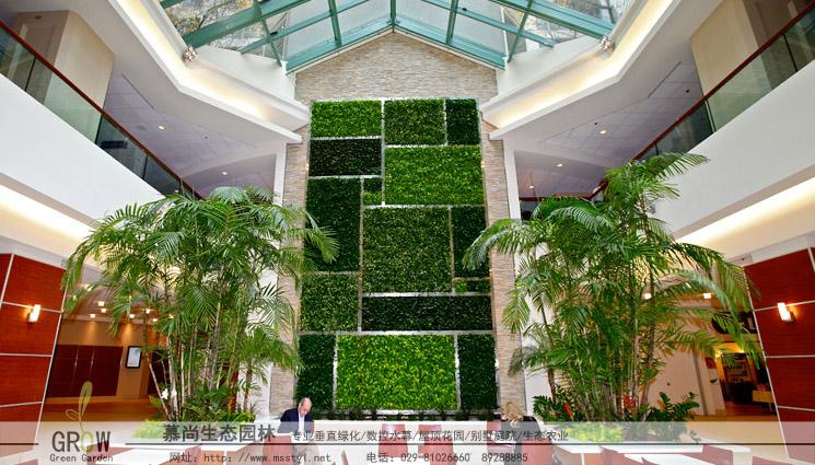 仿真室内植物墙
