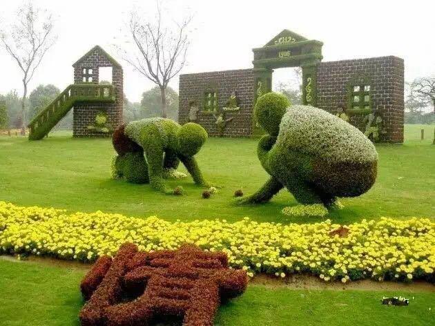 西安立體綠雕制作