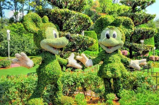 西安綠色雕塑