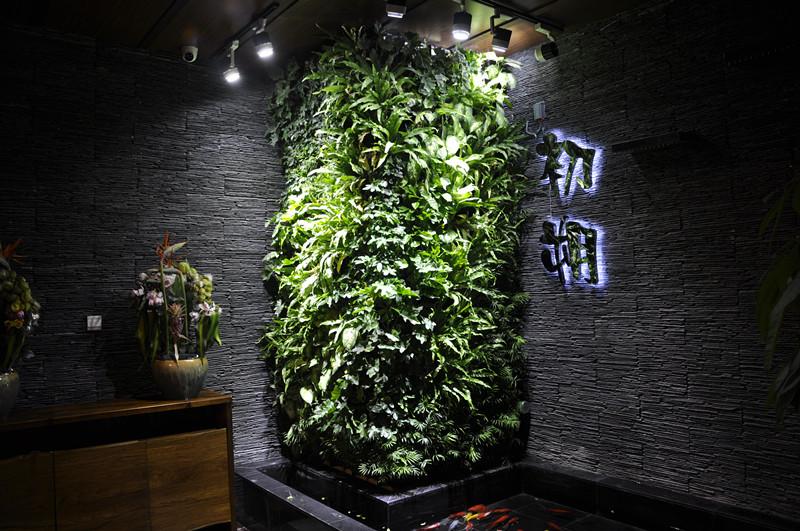 仿真植物墻