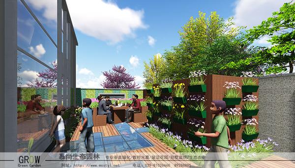 屋顶花园,西安屋顶花园,屋顶绿化,西安屋顶绿化