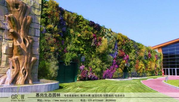 立體綠化公司_立體墻面綠化
