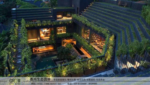 斜坡屋頂綠化