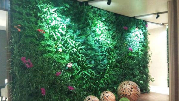 仿真植物墙做法