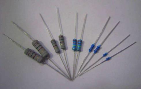 碳膜直插电阻器