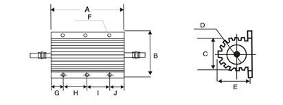 RX24铝壳电阻器