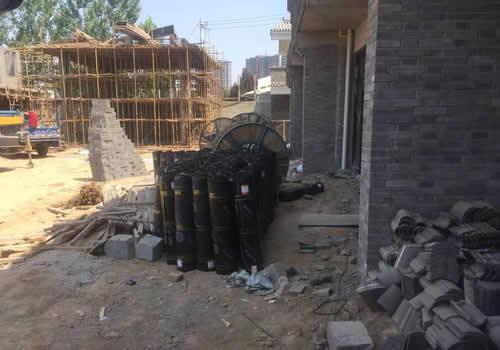 西安某工地墙面防水施工