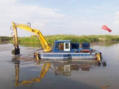 紹興/衢州清淤設備固定在側邊絞盤上的錨按圓弧形旋轉
