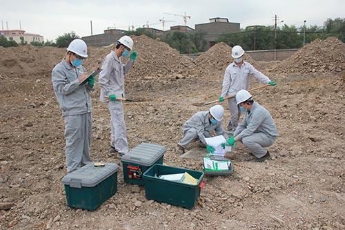 固体废弃物中的重金属含量监测