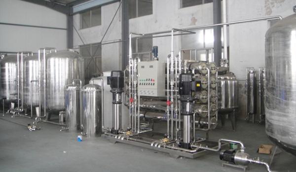 反渗透水处理设备系统构成及作用