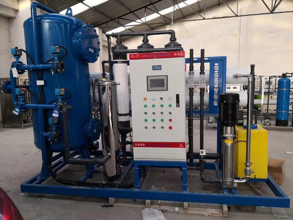 我公司生产的中回水设备真正实现了零排放!