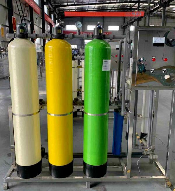 纯净水处理设备日常调试方法
