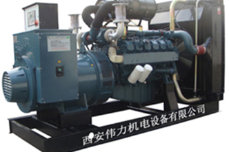 250kw韓國大宇柴油發機電組