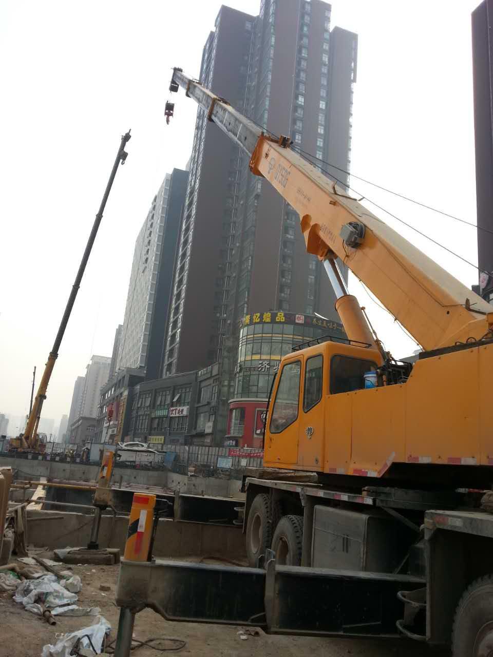 西安地铁吊装永安吊装进行西安地铁吊装施工