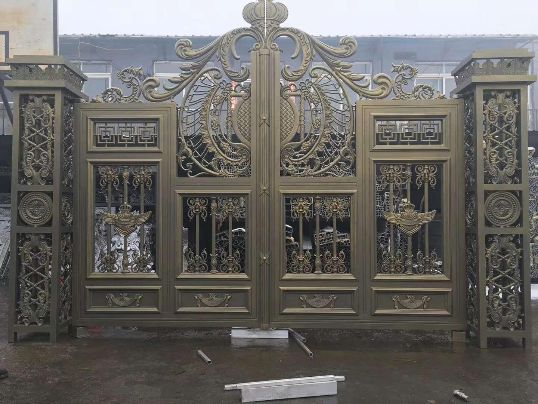 大型铝艺大门