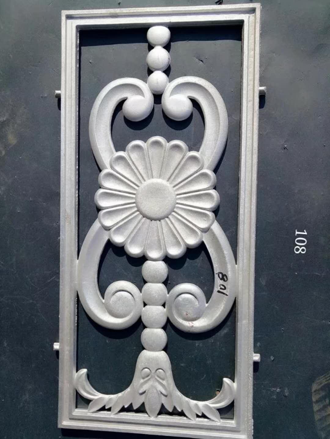 铝艺护栏装饰图案
