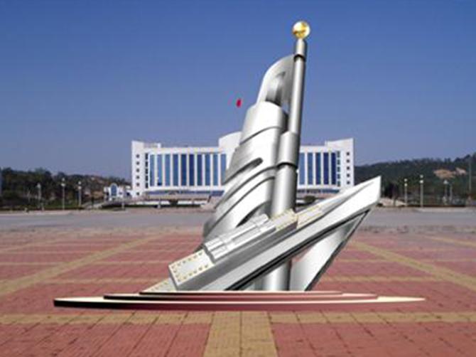广场不锈钢雕塑