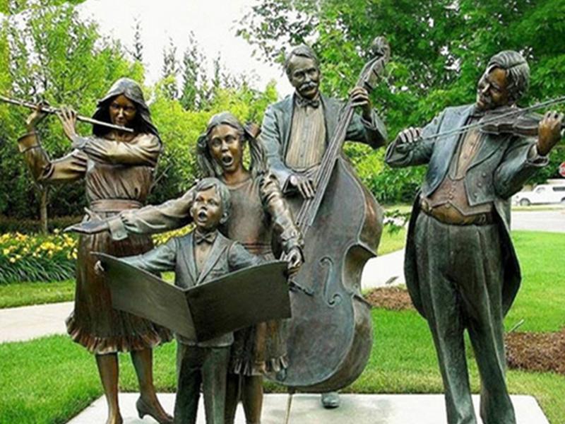 公园铸铜雕塑
